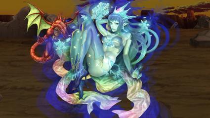 水属性の女性召喚獣